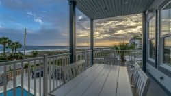 La Luna Heart is a Seagrove Beach Home with Gulf Views + Private Pool + Free Bikes