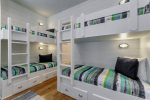 2nd Floor Bunk Room - Two Sets of Twin Over Twin Bunk Beds
