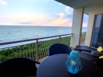 Extravagant Gulf views from your Private Balcony off the Living and Master Suite