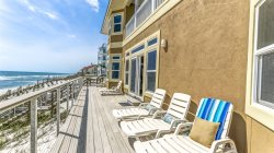 Gulf Front Inlet Beach Vacation Home 'Bull and Bear' with Amazing Gulf Views Plus Carriage House!