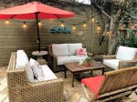 Great outdoor seating to enjoy