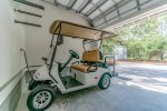 Enjoy your ride through Watercolor on the 4 seater golf cart