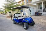 Golf cart to enjoy during your stay
