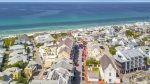 Aerial view of Main Street - Rosemary Beach