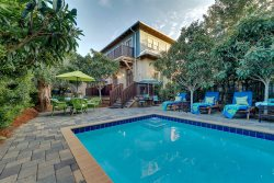 Rosemary's Scarborough Fair -Rosemary Beach - Private Heat-able Pool - Sleeps 10 - Rosemary Scarborough Fair