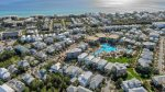 Aerial View of the Lagoon Style Community Pool - 12,000 Square Feet