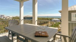 The Palmetto Blue 30A Inlet Beach +Gulf views +free bikes +beach set up
