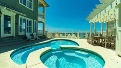 'Same Time Next Year' Spectacular Gulf Front Luxury Home, Private Pool Directly on the Beach!