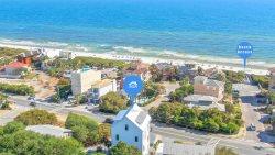 'Life By The C' - Gulf Views, Elevator, Heated Private Pool, Arcade, Ping Pong, Free Bikes, Elegant High End Custom New Home in Seagrove Beach near Seaside