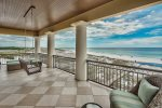 This Gulf front balcony will set your soul at ease