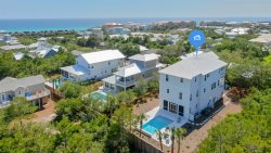 Beach, Beach, Beach! Seacrest West Ultimate Beach House + Gulf Views + Private Pool + Golf Cart + Bikes