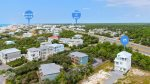 Aerial View - Effortless Commute to Rosemary Beach & Shopping