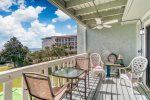 Take in the Gulf views from the 2nd Floor Balcony