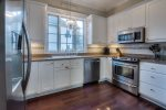Rosemary Beach - Fully equipped kitchen with stainless steel appliances