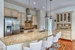 Kitchen - Featuring Stainless Steel Appliances & Granite Counters