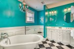 Master En Suite - Featuring a Clawfoot Soaking Tub