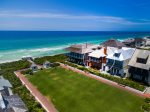 Rosemary Beach - Aerial View showing the close proximity to the beach