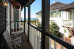 Plenty of covered porches to enjoy the sea breeze.