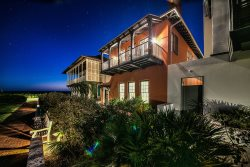 Rosemary Beach House Rental - Luxury 'Terra Casa' Eastern Green Gulf View