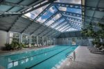 Keep Warm in the Winter in the Heated Sky Pool