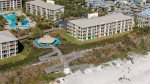 Within walking distance to the beach, grill & lagoon pool