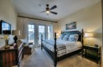 Watersound 204 Compass Point - Master Bedroom with Balcony Entrance & King Bed