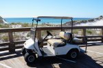 Golf Cart is included with your stay