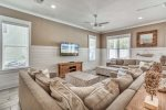 Seagrove Beach - Media Room w/ tons of seating for watching a movie