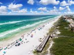 Seagrove Beach - spacious balconies with seating for relaxing