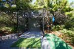Play a competitive game of tennis on the courts