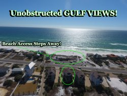 Dune Allen Beach Vacation Rental House with Private Pool + Easy Beach Access + Amazing Views!