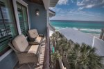 3rd Floor Balcony - Featuring Generous Gulf Views off the Master Suite
