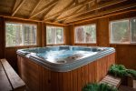 Fully Enclosed, Private Hot Tub