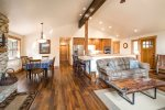 Hardwood Floors and Upgraded Furnishings