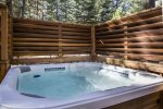 Private Hot Tub, Privacy Fence
