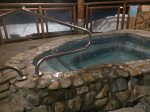 Centrally located hot tub