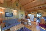 Running Wolf Cabin (1 BR)  – ski trail access, pool/hot tub, and playground