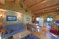 Running Wolf Cabin (1 BR)   ski trail access, pool/hot tub, and playground