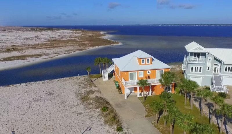 Awesome Cabana Del Sol Soundside Beach Home Navarre Beach Vacation Download Free Architecture Designs Sospemadebymaigaardcom