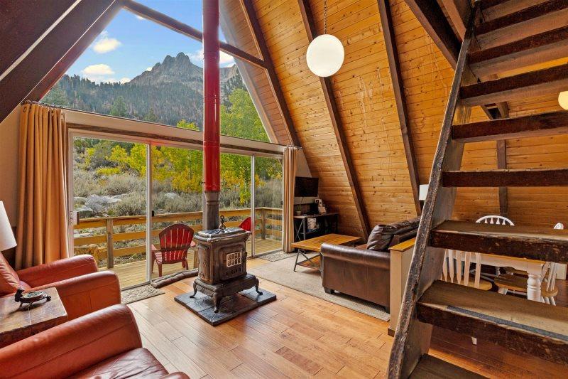 Historic A-Frame Vacation Cabins - June Lake