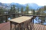 Nestled above the village of June Lake, spacious home with amazing views and  indoor hot tub!