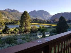 A spacious Interlaken condo with spectacular views of Gull Lake and the Sierra Mountains.