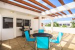 Your private roof top terrace with BBQ