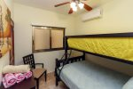 Guest bedroom 2 with bunk bed with 1 single and 1 double bed