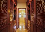 Walk-in closets in the master suite