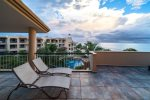 Your private ocean view terrace