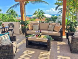 Casa Azul Caribe - Million Dollar View Beachside Villa