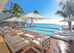 Your private ocean view terrace with Jacuzzi and patio table