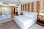 2nd master suite with Jacuzzi, king bed, HDTV with satellite and DVD player and ocean view