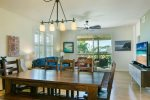 Dining Room, Living Room and Lanai